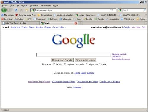 googlle cambia su logo para celebrar 11 años