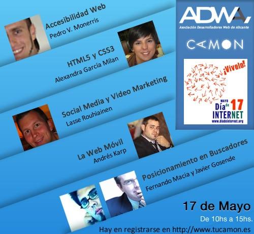 ADWA organiza el Día internacional de Internet junto a CAMON