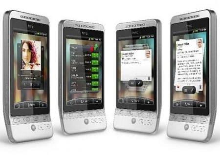 HTC Hero, actualización Android 2.1 Éclair al fin en camino