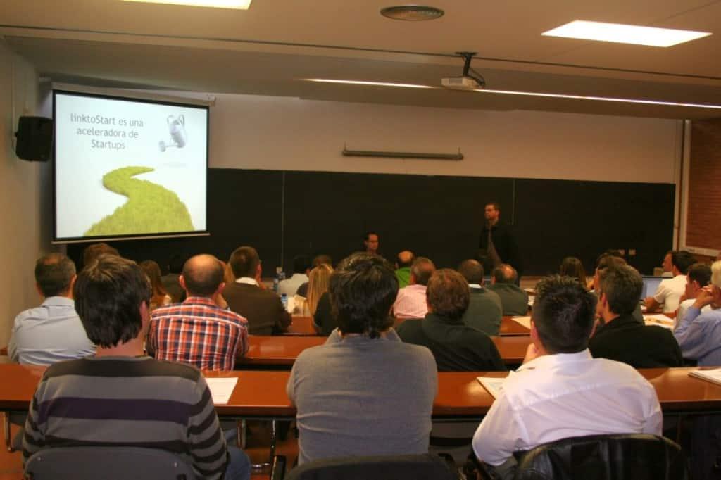 Presentación de linktoStart en Fundesem