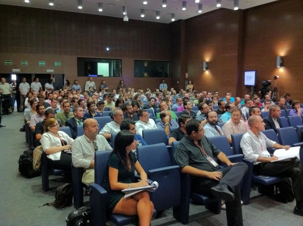 I edición del congreso de Internet del Mediterráneo durante la presentación de Enrique Dans