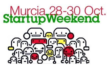 Este fin de semana participo como mentor y jurado en el Startup Weekend Murcia