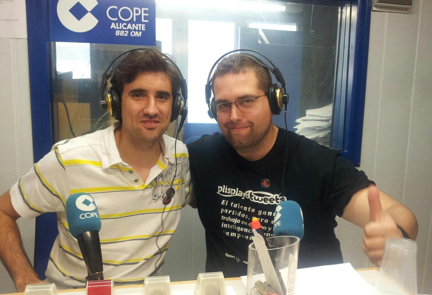 A tu disposición el último podcast en Cope Alicante: Cesar Mariel organizador de iWeekend Alicante nos presenta el evento.