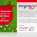 Hoy estaremos formando parte de la organización de IMPRESSIONA'T. Hablaremos de e-commerce y redes sociales en el Hotel Caseta Nova
