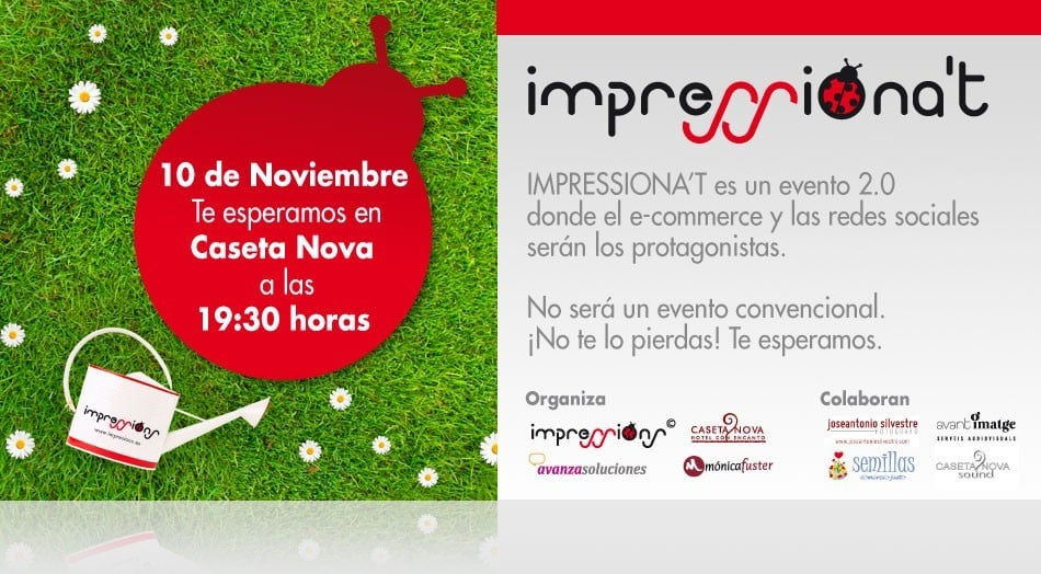 63aa05412a Hoy estaremos formando parte de la organización de IMPRESSIONA T.  Hablaremos de e-commerce y redes sociales en el Hotel Caseta Nova