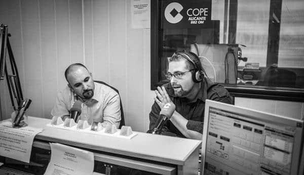 En plena entrevista a Javier Molina de Gestirep