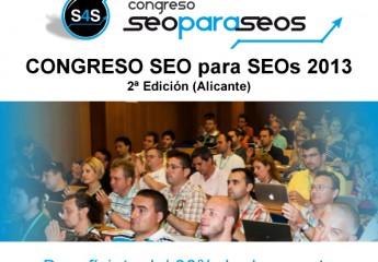 Ven con Avanza Soluciones al Congreso Seo para Seos 2013 en Alicante y consigue un 30% de descuento
