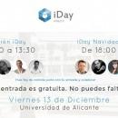 El 13 de diciembre participo en la cuarta edición de iDay. Sesión de tarde (Navidad Xperience).