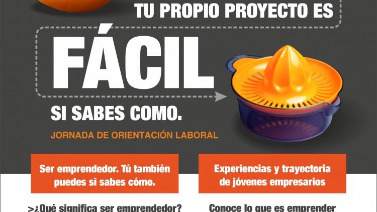 Jornada de Orientación Laboral en Castalla. Conoce que es emprender desde la experiencia. Organizada por Jovempa, Jóvenes Empresarios de la provincia de Alicante