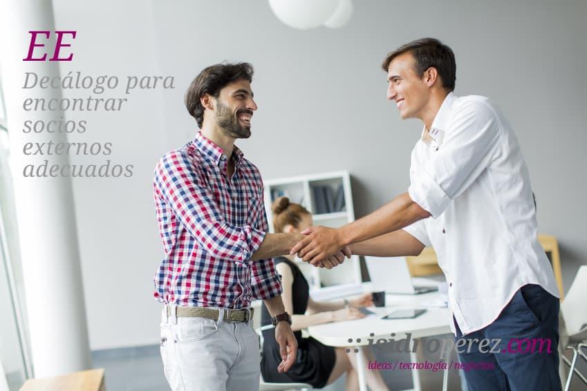 Empresario eficiente, decálogo para encontrar colaboradores adecuados.