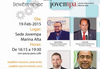 Formación para empresarios de Alicante. I jornada Conecta Jovempa