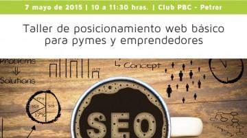 Taller de posicionamiento web básico, para pymes y emprendedores