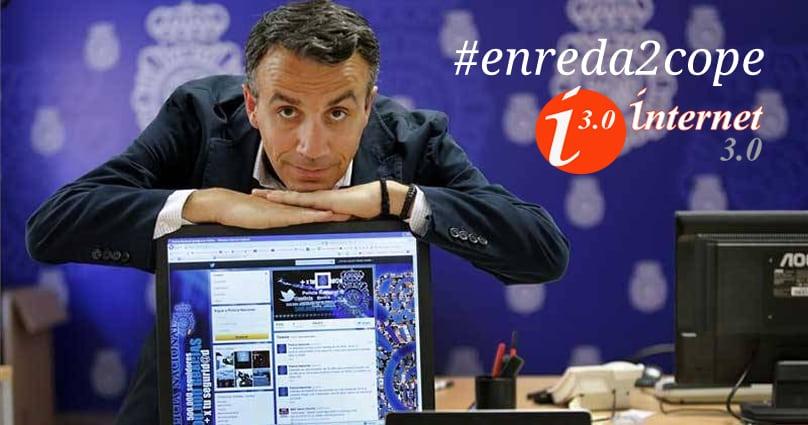 Entrevista a Carlos Fernández, responsable de @Policia por su participación en Internet 30