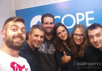 Entrevista a Isabel Romero en Cope Alicante, sobre Quondos World Record