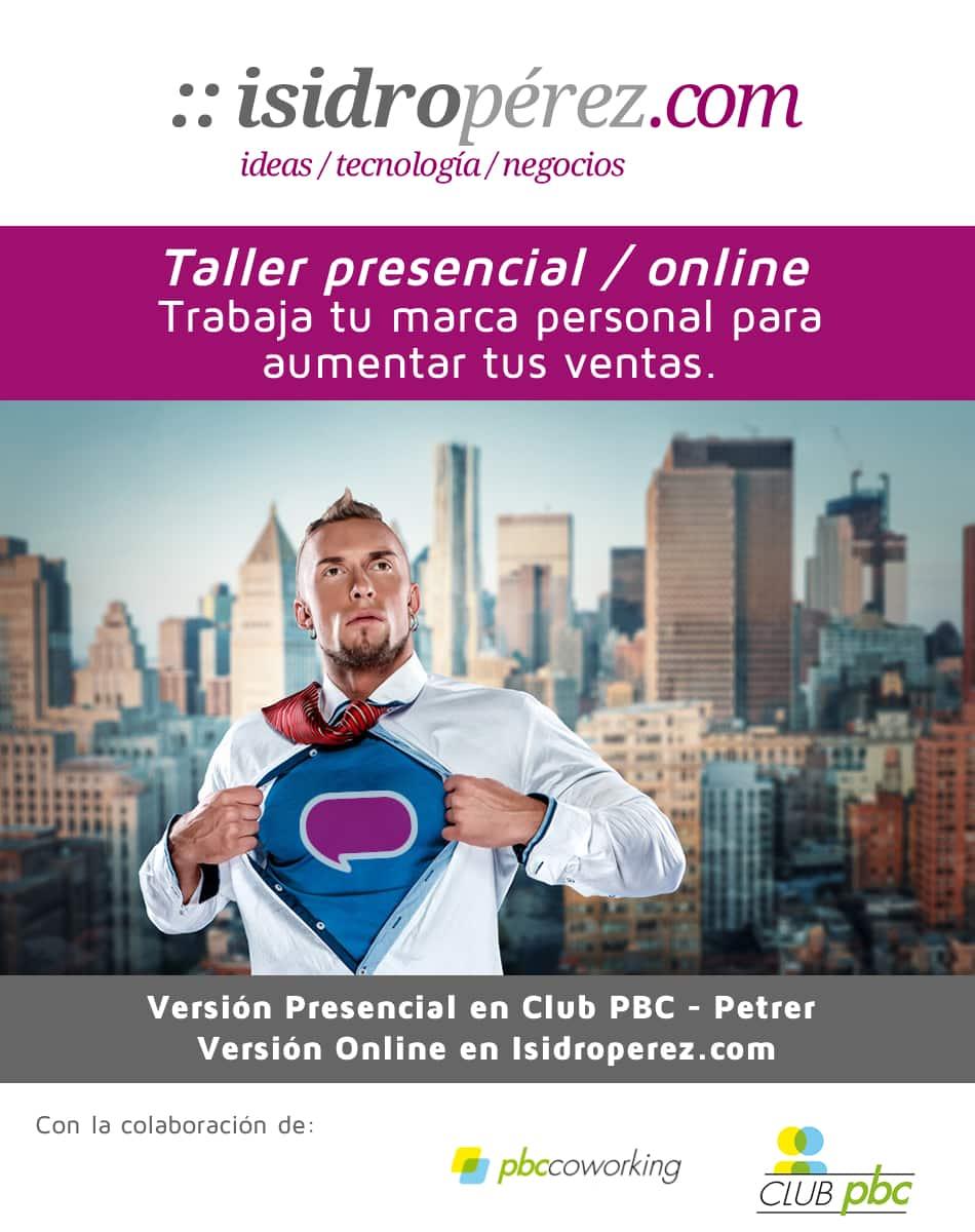 Taller de marca personal online