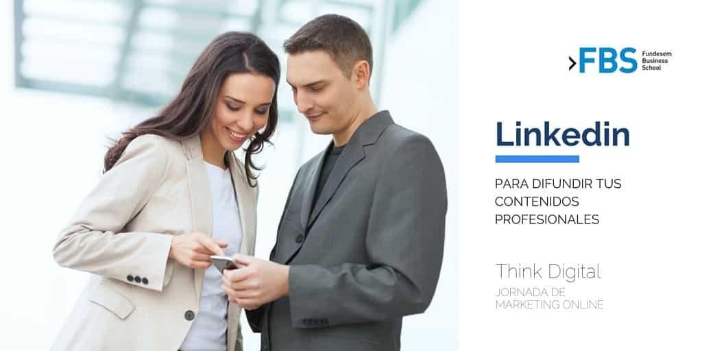Marketing Online y Linkedin en Think Digital Fundesem