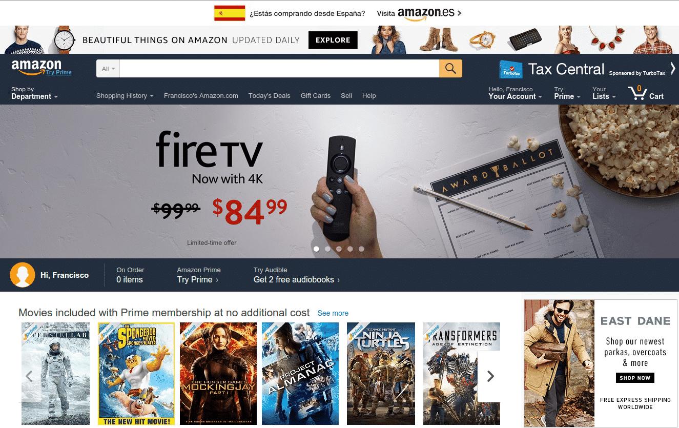 73efebe6e Amazon es el absoluto referente del comercio electrónico en el mundo. Sus  cifras de negocio son de vértigo