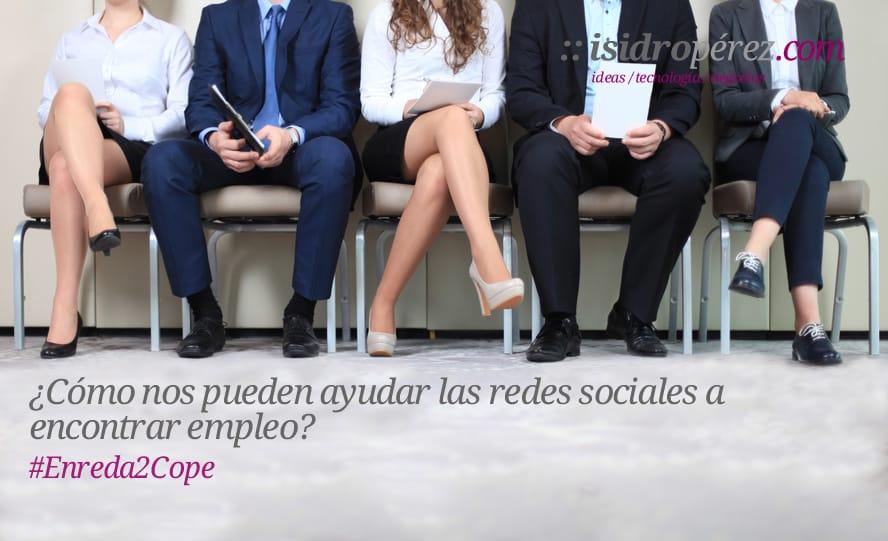 Te cuento en Cope Alicante, como te pueden ayudar las redes sociales a encontrar trabajo.
