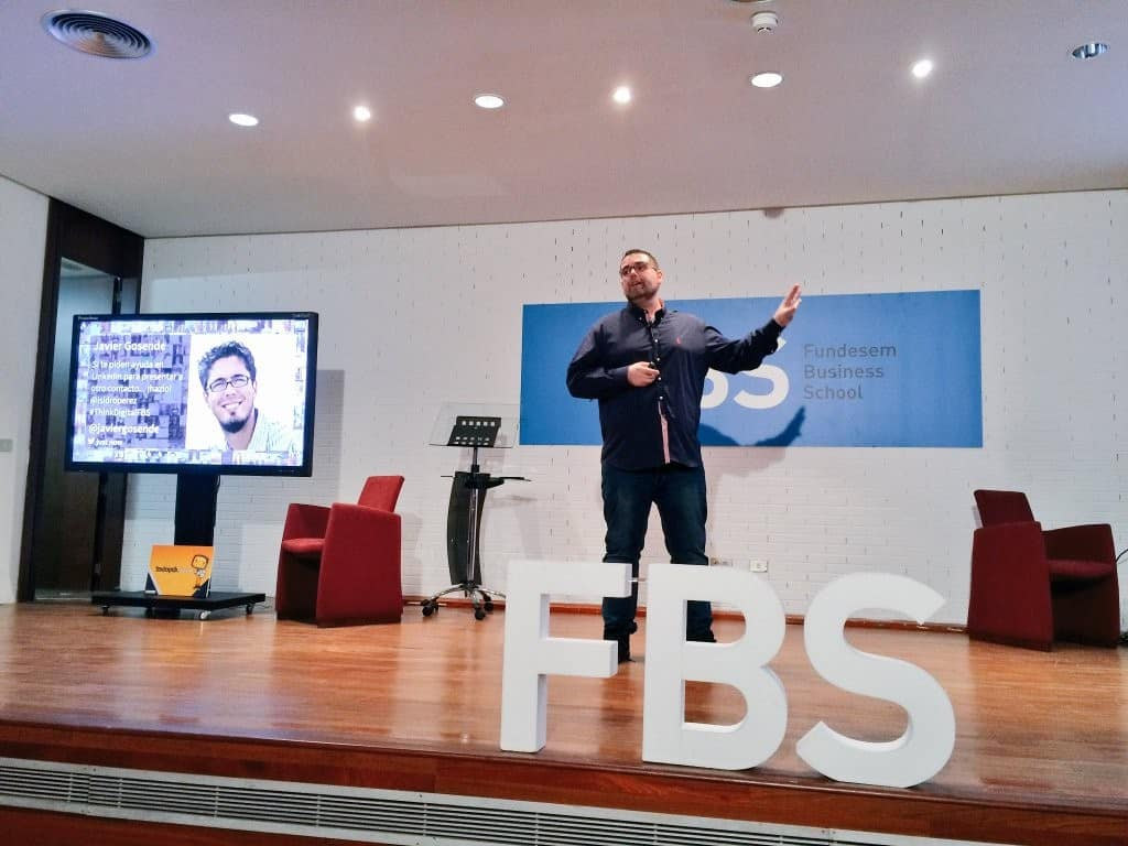 Conferencia sobre Linkedin en Fundesem Business School