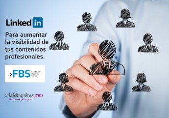 Conferencia sobre Linkedin y contendidos en Fundesem Business School