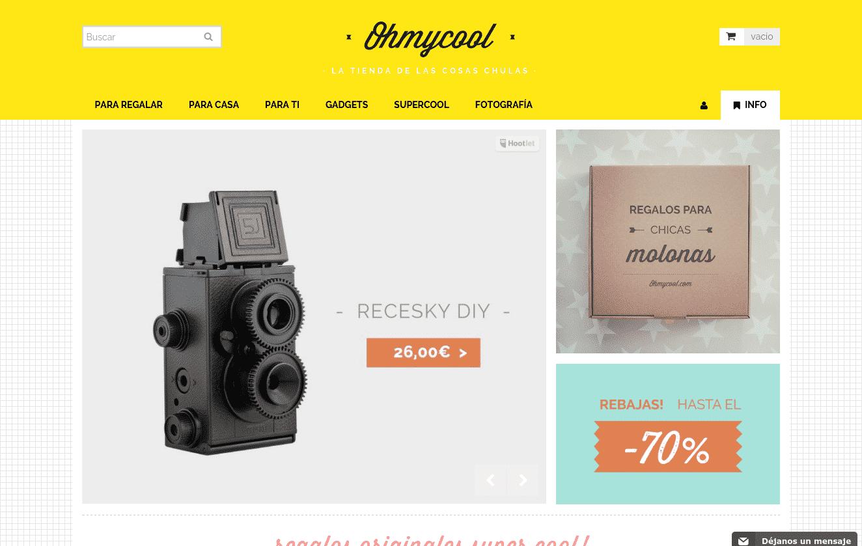 Ohmycool.com. La tienda online de las cosas chulas