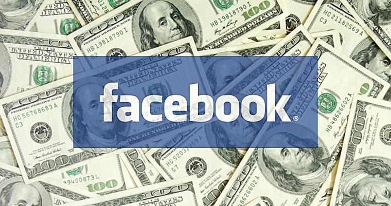 El equipo de Facebook está pensando nuevas maneras de monetizar tus contenidos