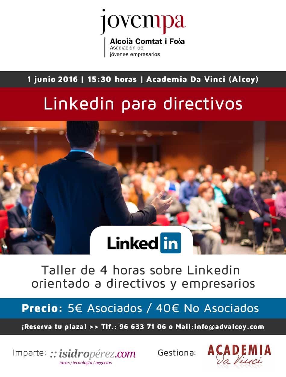Linkedin para directivos en Jovempa Alcoià