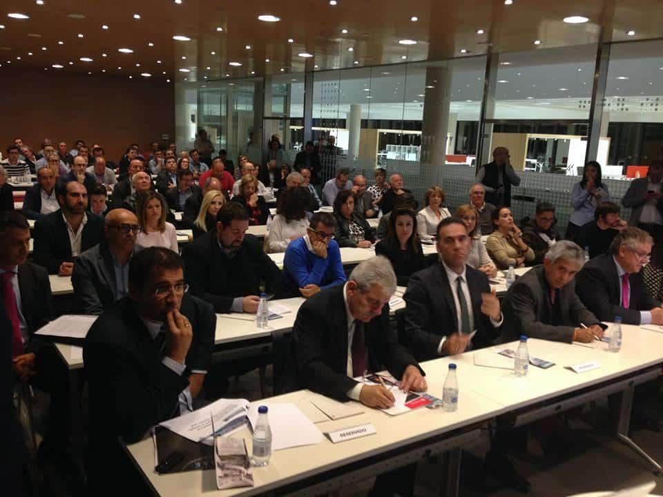 Encuentro empresarial con el Conseller de Industria y President de la Generalitat en Actiu Castalla