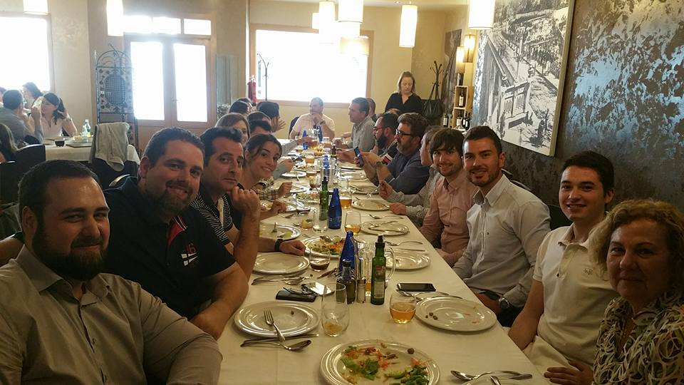 Comida de asociados y amigos de Jovempa Alcoià