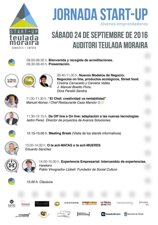 Jornada Startup para jóvenes empresarios y emprendedores de Alicante