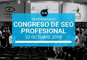 Seo para seos, el Congreso de SEO profesional con los mejores de España