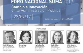 Foro Nacional Suma 2017 – Cambio e innovación en la Administración Pública